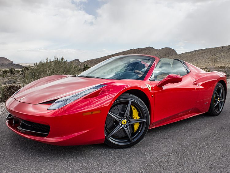 2015 Ferrari 458 Italia Convertible (Red) 8