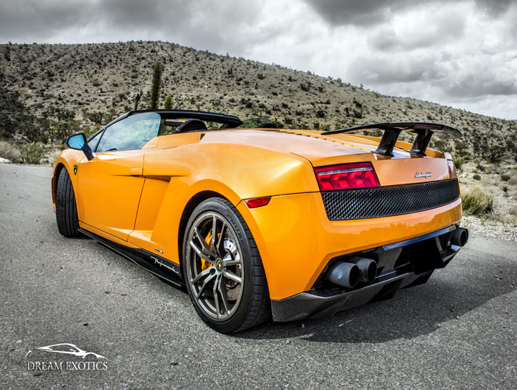 Exotic Sports Car Rental In Las Vegas