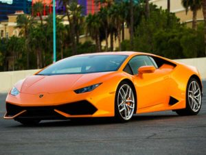 Lamborghini Huracan Orange