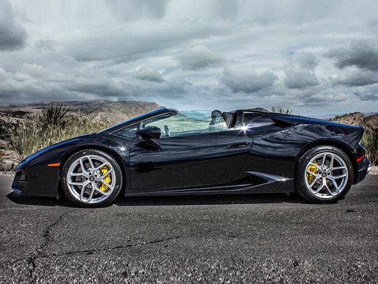 Lamborghini Huracan Spyder Black
