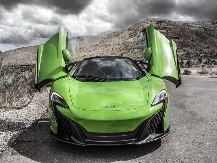 McLaren Rental Las Vegas