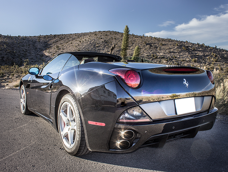 Ferrari California Rental