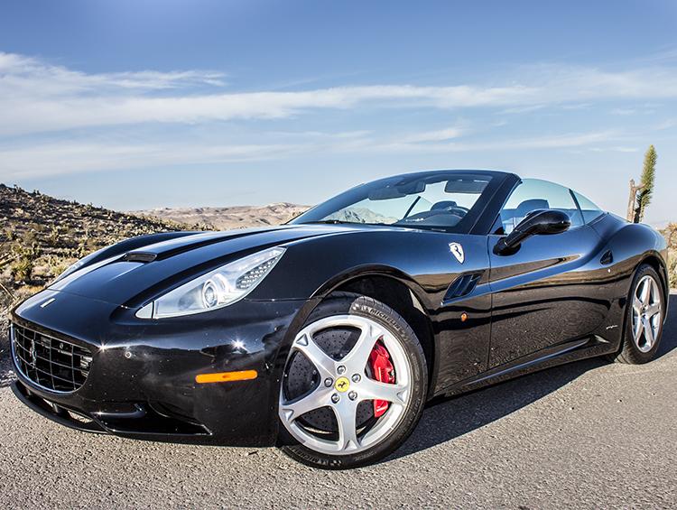 Ferrari California T Convertible Exotic Car Rental in Las ...