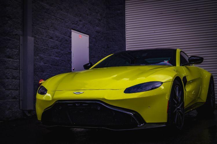 Aston Martin Vantage Green