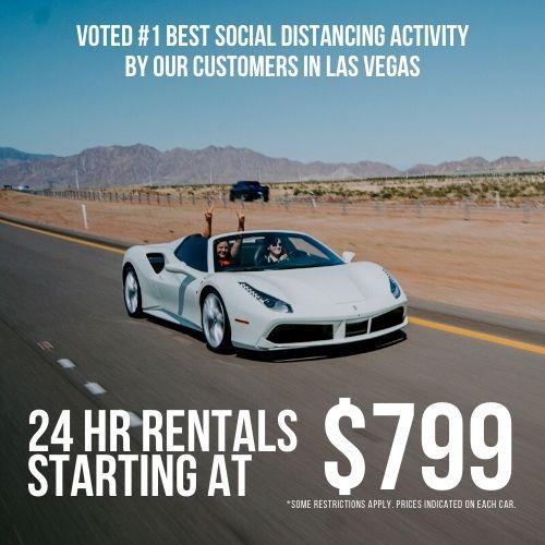 August 2020 Summer Special, 24Hr Rentals $799