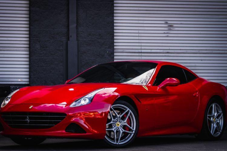 Ferrari California T Convertible red