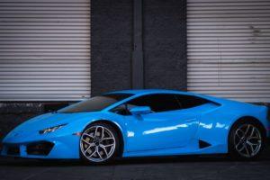Lamborghini Huracan Baby Blue