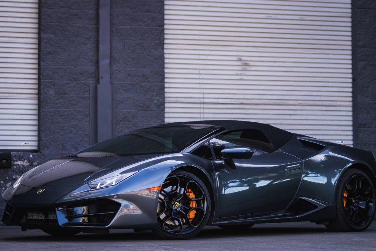 Lamborghini Huracan Spyder Grey