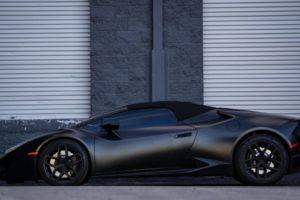 Lamborghini Huracan Spyder Matte Black