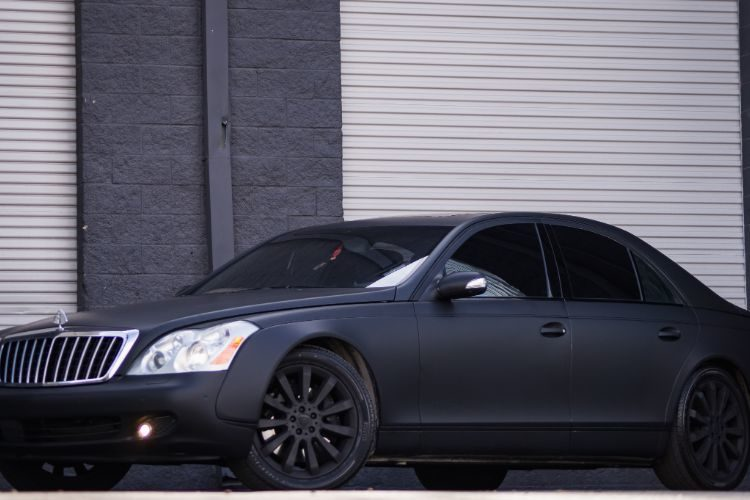 Maybach 57s grey