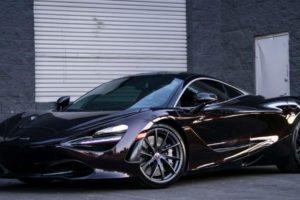 McLaren 720s Purple