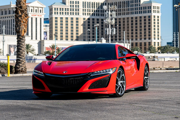 Acura NSX, Red