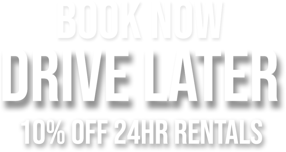 April Special, Book Now Drive Later 10% Off