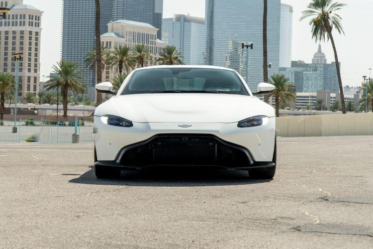 Aston Martin Vantage White