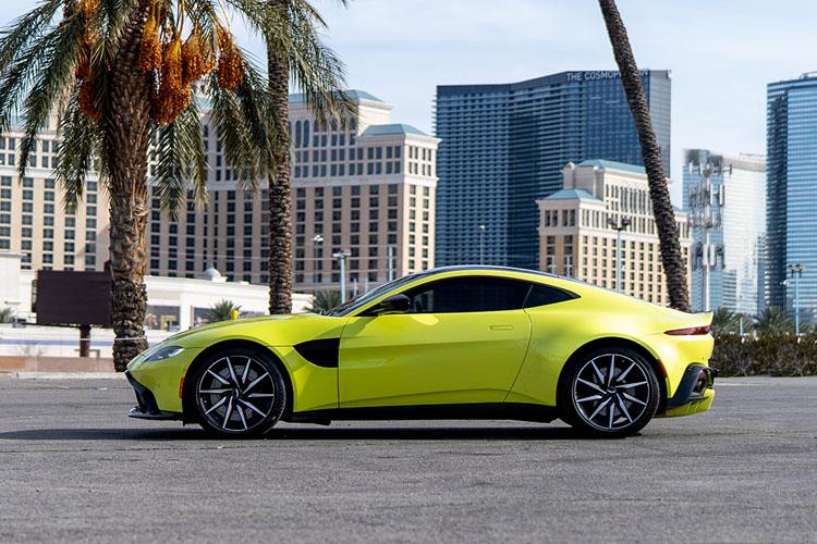 Aston Martin Vantage, Green