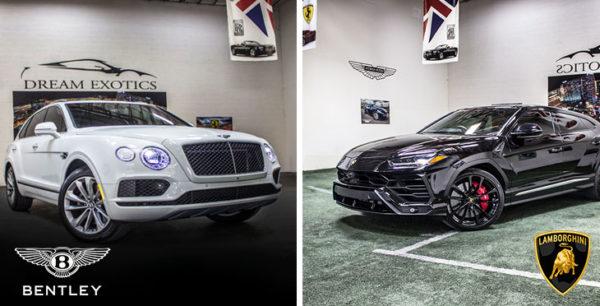 Bentley Bentayga Vs. Lamborghini Urus