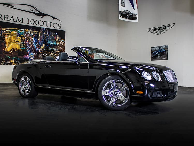 Bentley Continental GTC Black