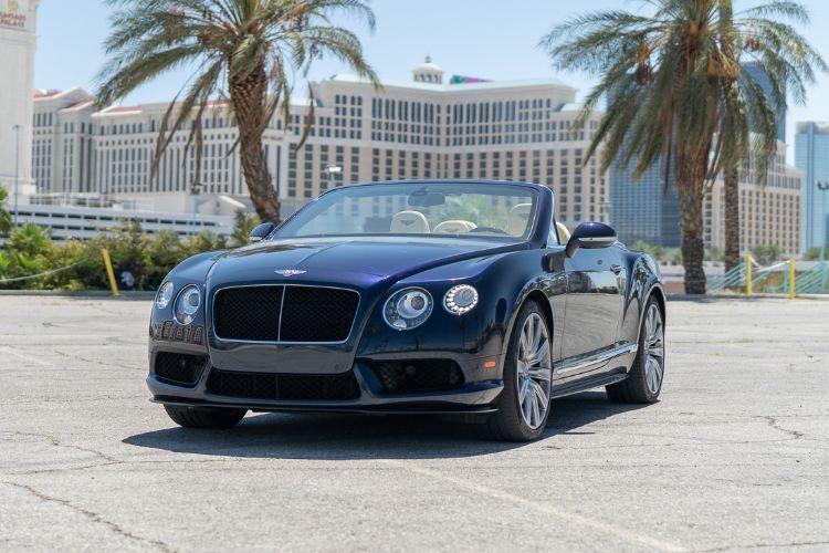 Bentley Continental GTC (Blue)