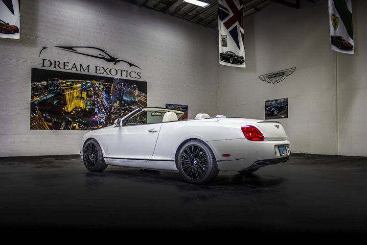 Bentley Continental GTC White