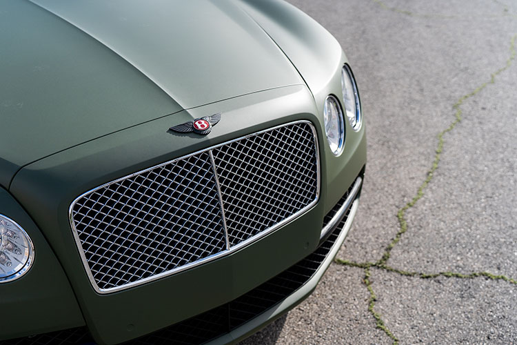 Bentley Flying Spur, Green