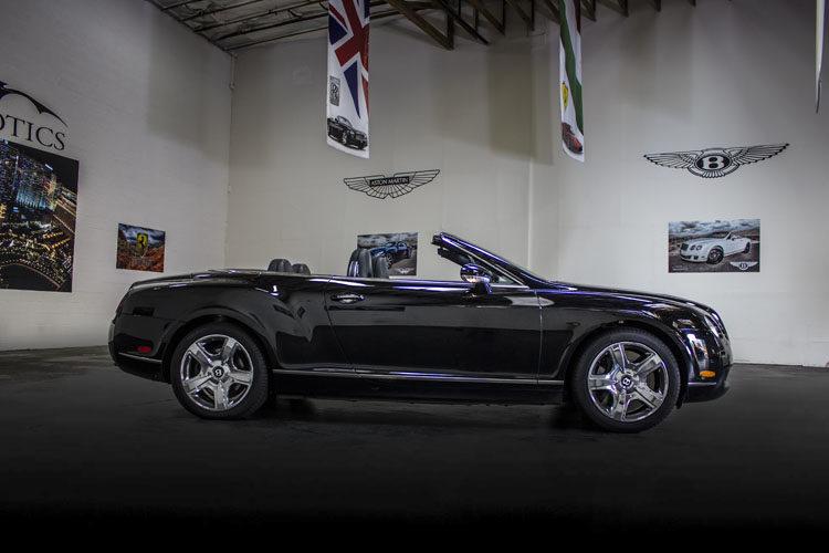 Bentley GTC Black