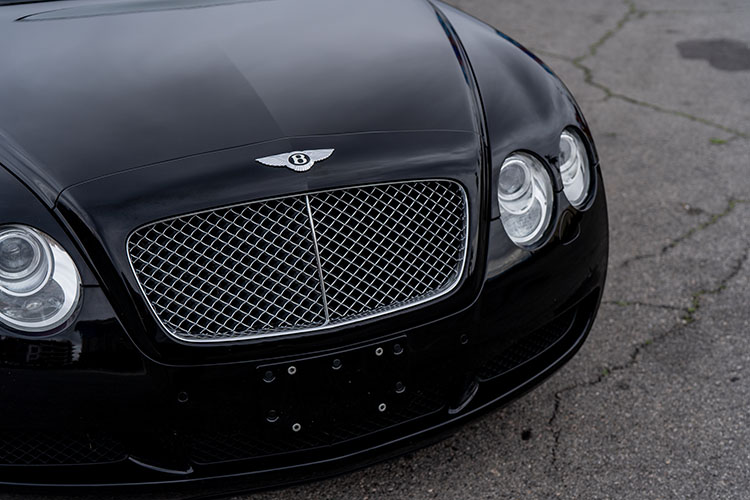 Bentley Continental GTC, Black