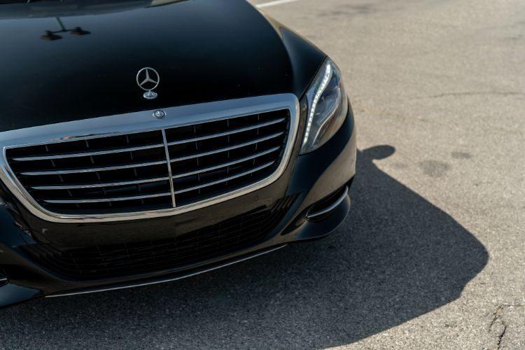 Mercedes S550 Black