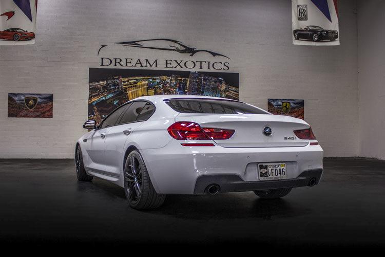 Bmw 640i Gran Coupe Exotic Car Rental In Las Vegas Dream Exotics