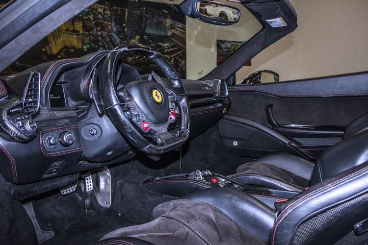 Ferrari 458 Spyder Black