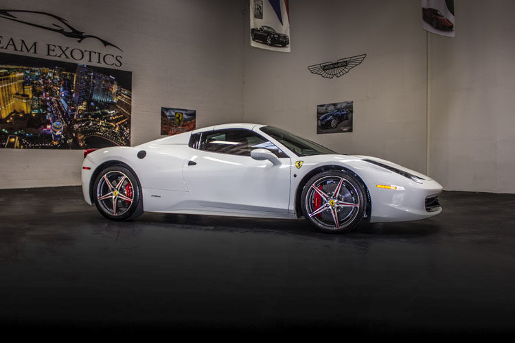 Ferrari 458 Italia Convertible White
