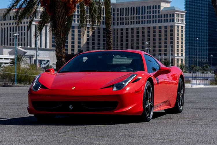 Ferrari 458 Italia, Red