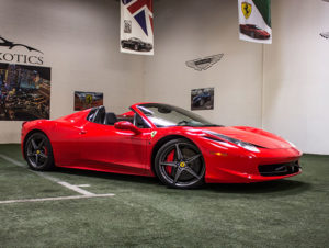 Ferrari 458 Featured