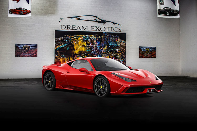 Ferrari 488 Rental, Red