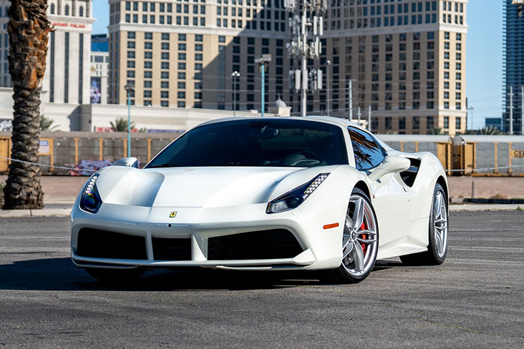 Ferrari 488 Spider, White