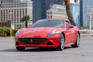 Ferrari California T, Red
