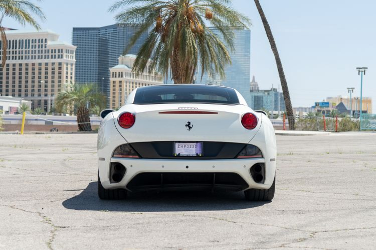 Ferrari California T Convertible (White)