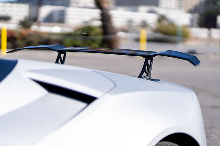 Lamborghini Huracan Spyder, Silver Diamond