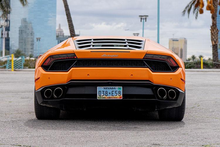 Lamborghini Huracan, Orange