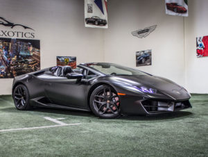 Lamborghini Huracan Spyder, Matte Black