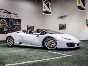 Lamborghini Huracán Spyder, Silver Diamond, Featured