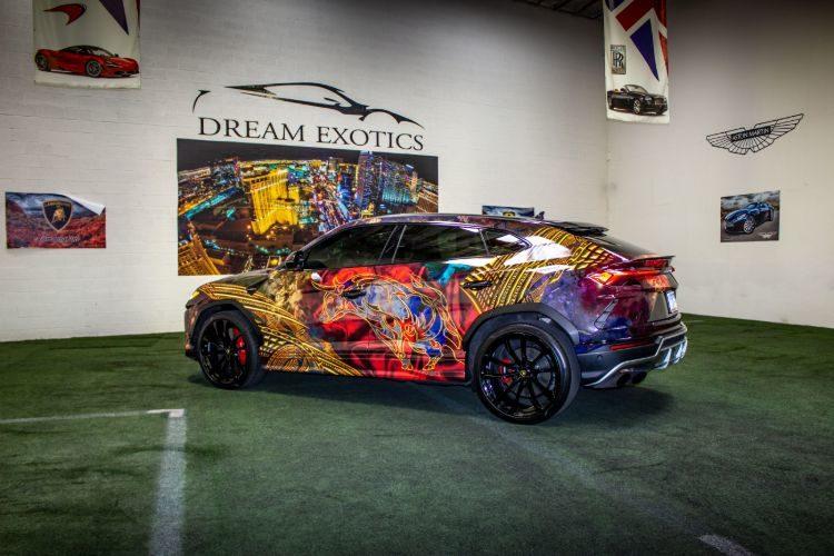 Lamborghini Urus Rally