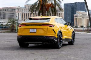 Lamborghini Urus, Yellow