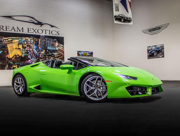 Lamborghini Huracan Spyder Green