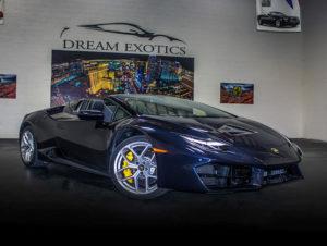 Lamborghini Huracan Spyder Dark Blue