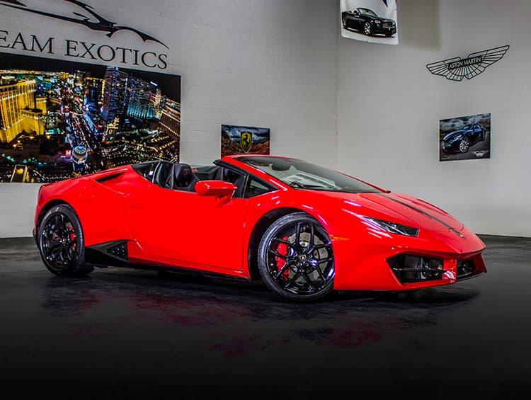 Lamborghini Huracan Spyder Red