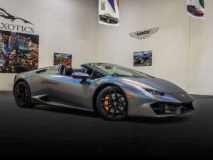 Lamborghini Huracan Spyder Psychadelic