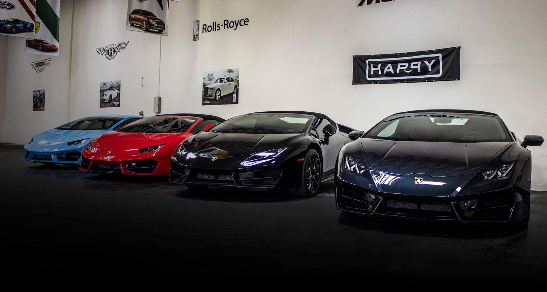 Lamborgini Garage