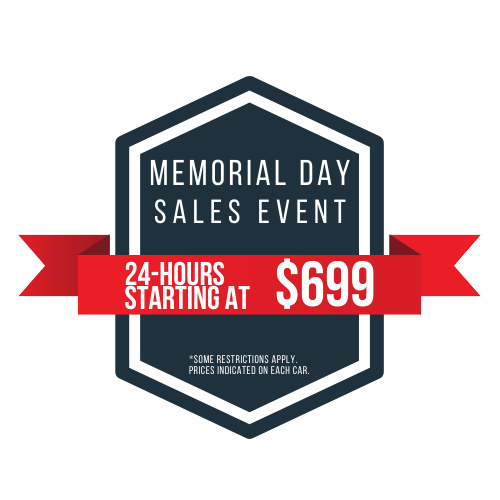 May 2021 Memorial Day Sale Graphic