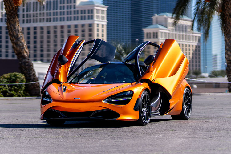 Mclaren 720s, Orange