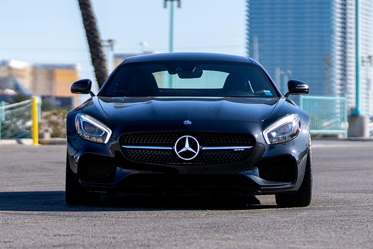 Mercedes Amg GT, Black